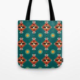 Felino Azteca Tote Bag