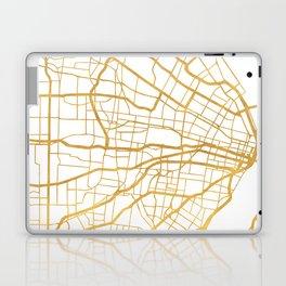 ST. LOUIS MISSOURI CITY STREET MAP ART Laptop & iPad Skin