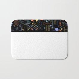 First Aid Kit (Black) Bath Mat