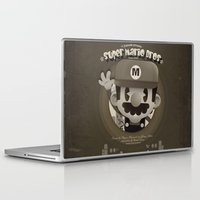 mario bros Laptop & iPad Skins featuring Mario Bros Fan Art by danvinci