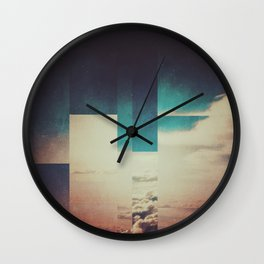 Fractions A27 Wall Clock