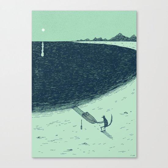 'Beach' (Colour) Canvas Print