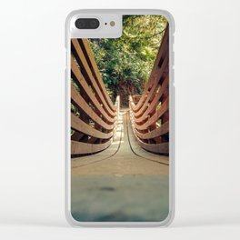 Pathway Uncertain Clear iPhone Case