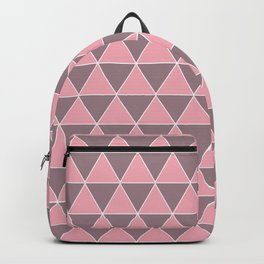 Pink-Purple Triangle - Geomerty Love Backpack
