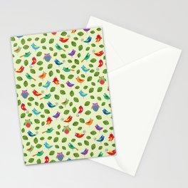 Birds pattern Stationery Cards
