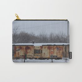 CNW Caboose in Winter Carry-All Pouch