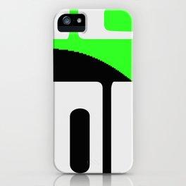 2KSD Alien Droid One iPhone Case
