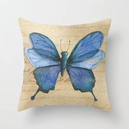 Everything Beautiful Butterfly Throw Pillow