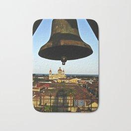 Bell Tower View, Granada, Nicaragua Bath Mat