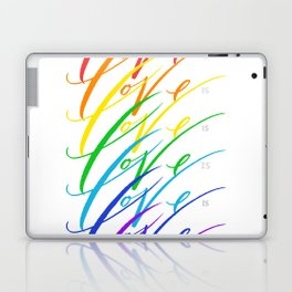 Love is Love! Laptop & iPad Skin
