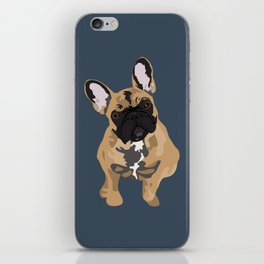 Zoey the Frenchie iPhone Skin