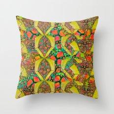 Citrus Tiwst Throw Pillow