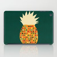pineapple iPad Cases featuring Pineapple by Picomodi