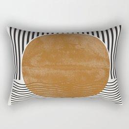 Abstract Modern Poster Rectangular Pillow