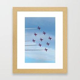 Red Devils Framed Art Print