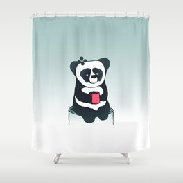 I can wait Shower Curtain