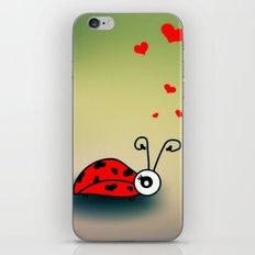 Ladybug Love iPhone & iPod Skin