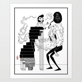 AYD Boys Dont Die Art Print