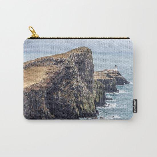 Lighthouse rock ocean Carry-All Pouch
