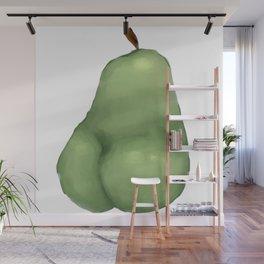 all hail the pear butt Wall Mural