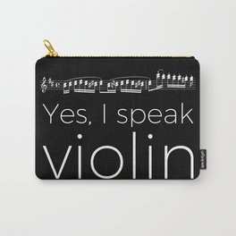 Speak violin? Carry-All Pouch