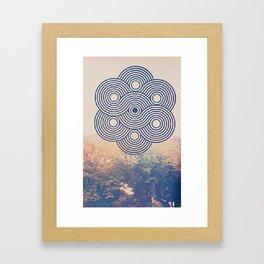 It aint sunny Framed Art Print