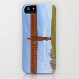 Angel of the North 2 iPhone Case