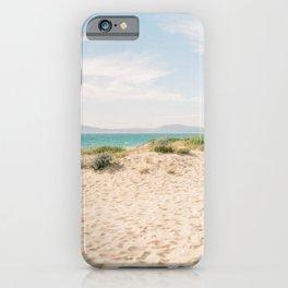 Portuguese Paradise Beach | Fine Art Travel Photography Print | Shot in Comporta, Portugal iPhone Case