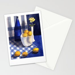 Still Life with Lemons Stationery Cards