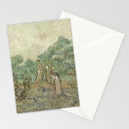 Vincent van Gogh The Olive Orchard 1889 Painting Stationery Cards