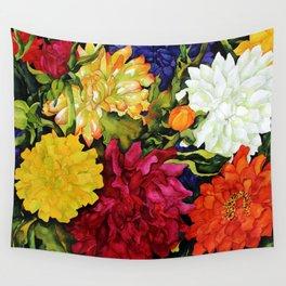 Dahlia Delight Wall Tapestry