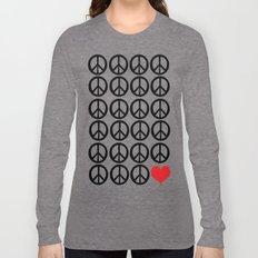 PEACE PEACE ANDLOVE Long Sleeve T-shirt