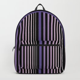 Midnight Stripes Backpack