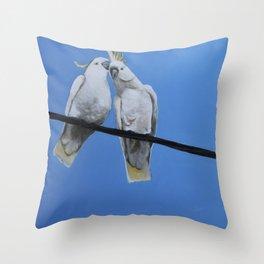HV Chatter Throw Pillow