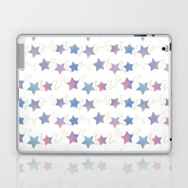 Watercolor Star Garland/ Bouquet Laptop & iPad Skin