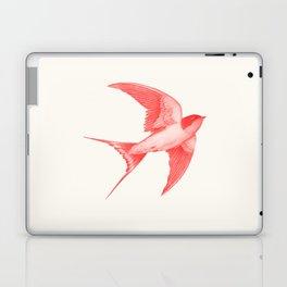 Barn Swallow (red) Laptop & iPad Skin