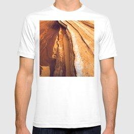 Stunning Red Rock Canyon Textures, Paria Wilderness T-shirt