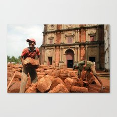 Brickwork Canvas Print