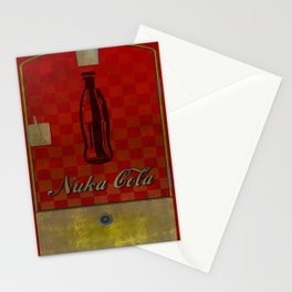 Nuka cola poster  Stationery Cards