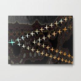 flight of geese Metal Print