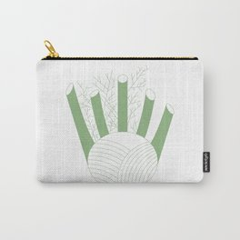Green Fennel Carry-All Pouch
