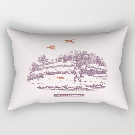 A Vintage Memory Rectangular Pillow