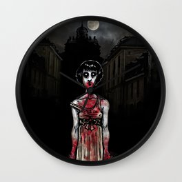 Cold Child in The City Wall Clock