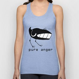 pure anger fishcrowson Unisex Tank Top
