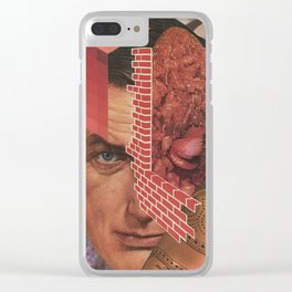 Meat Head Clear iPhone Case