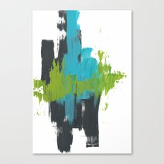 Abstract Ocean Canvas Print