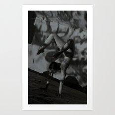 Contortion Art Print