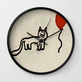 Maisy & Balloon Wall Clock