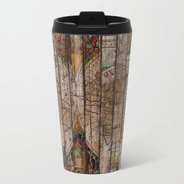 Encrypted Map Travel Mug