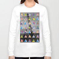 postcard Long Sleeve T-shirts featuring Postcard by [ g ]